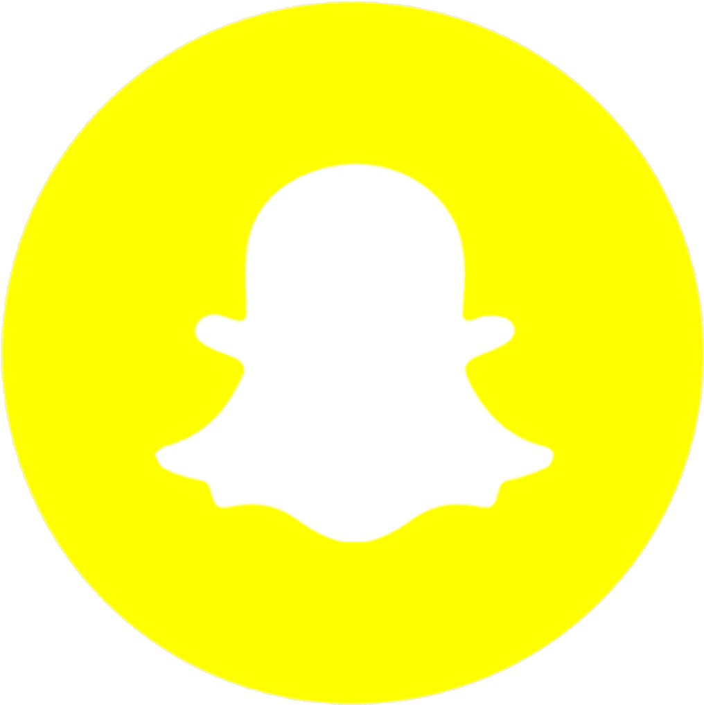 104 1043609 youth ministry snapchat logo round png clipart